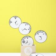 matali crasset clock horlogne bad boys kids kidding designer box