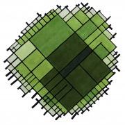 Image portrait  (cropée): matali crasset nodus rug tapis