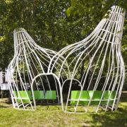 matali crasset commande publique jardin garden kiosk kiosque CHU Angers Hopital