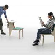 matali crasset danese milano doubleside stool