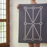 matali crasset tissage Moutet entreprise du patrimoine vivant jacquard made in France fait en France textile torchon design linge basque