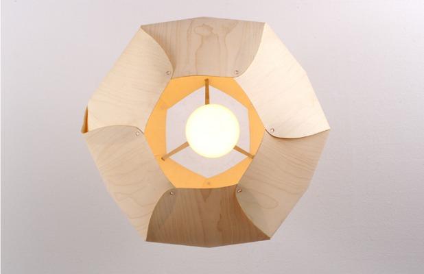 matali crasset Danese Milano lamp lampe wood
