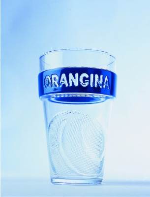 matali crasset Orangina verre glass soda orange