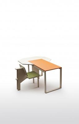 matali crasset bureau desk danese milano double size