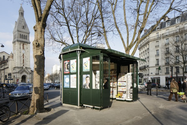 matali crasset presse paris lire architecture kiosque