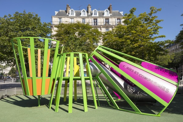 matali crasset aire de jeux playground Paris, place de la Nation pavillon de l'arsenal  faire paris faire design