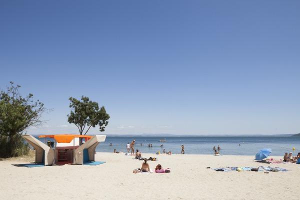 matali crasset library beach bibliobeach Istres