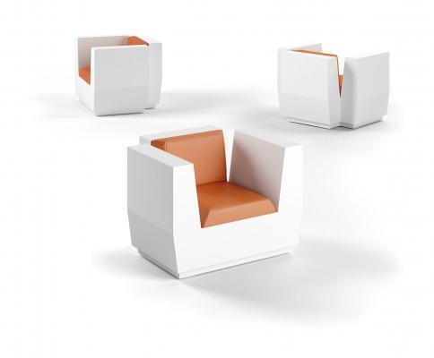 matali crasset big cut outdoor furniture Plust Europlast mobilier jardin