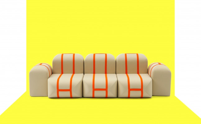 matali crasset campeggi pouf modulable milano design week salone del mobile
